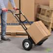 Molnárkocsi, Basic max. 200 kg teherbírással, levegővel töltött kerék, felhajtható rakodólapát