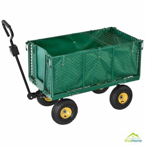 Szállító pótkocsi / kerti utánfutó XL, max. 550 kg