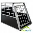 Alumínium kutyaszállító box - L - 91 x 65 x 69 cm