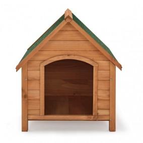 """Kutyaház, masszív kivitel, tisztítható, bitumen tető - """"Rocky"""" - 71 × 88 × 83 cm"""