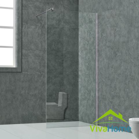 """Üveg zuhanyfal 130 x 200 cm - 10 mm vastag biztonsági üveg """"Lissabon"""""""