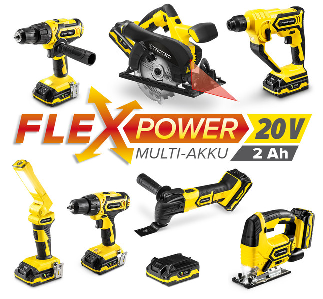 Flexpower multiakku-sorozat