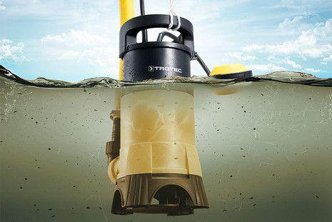 TWP 7025 E szennyvíz-búvárszivattyú 7 méteres merülési mélységig
