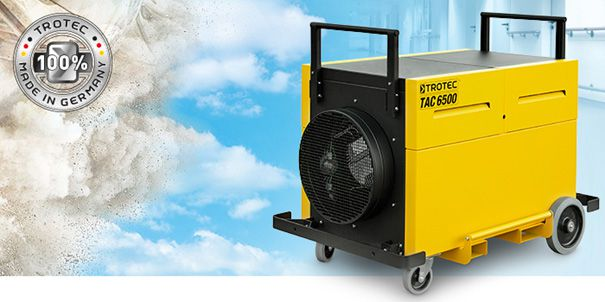 Tac 6500 légtisztító, ipari porelszívó