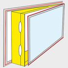 AirLock 200 ablaktömítés minden tipusú ablakra szerelhető