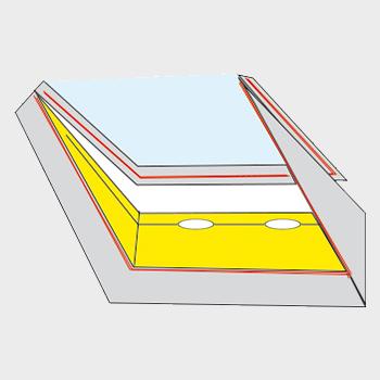 AirLock 200 ablaktömítés felszerelése