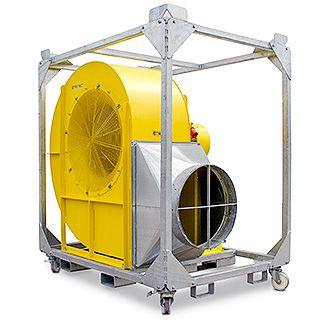 TFV 1200 radiálventilátor
